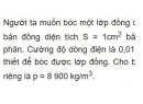 Bài 11 trang 85 SGK Vật lí 11