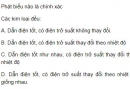 Bài 5 trang 78 SGK Vật lí 11
