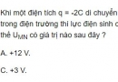 Bài 6 trang 29 SGK Vật lí 11