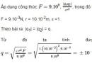 Bài 8 trang 10 SGK Vật lí 11