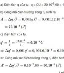 Bài 8 - Trang 33 - SGK Vật lí 11