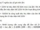 Bài 8 trang 49 - Sách giáo khoa vật lí 11