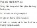 Bài 8 trang 85 SGK Vật lí 11