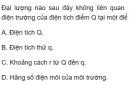 Bài 9 trang 20 SGK Vật lí 11
