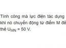 Bài 9 - Trang 29 - SGK Vật lí 11