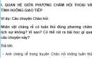 Soạn bài Các phương châm hội thoại (tiếp theo) trang 36 SGK Ngữ văn 9