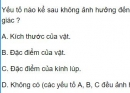 Bài 4 trang 208 SGK Vật lí 11