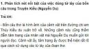 Kiểm tra phần Tiếng Việt trang 204 SGK Văn 9