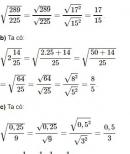 Bài 28 trang 18 SGK Toán 9 tập 1