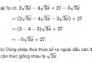 Bài 46 trang 27 sgk Toán 9 - tập 1