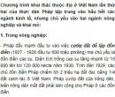 Dựa vào lược đồ (Hình 27, SGK, trang 56) để trình bày chương trình khai thác Việt Nam lần thứ hai của thực dân Pháp tập trung vào những nguồn lợi nào?