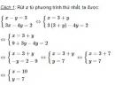 Bài 12 trang 15 sgk Toán 9 tập 2
