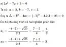 Bài 16 trang 45 sgk Toán 9 tập 2