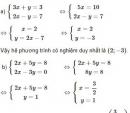 Bài 20 trang 19 SGK Toán 9 tập 2