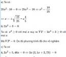 Bài 20 trang 49 sgk Toán 9 tập 2