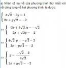 Bài 21 trang 19 SGK Toán 9 tập 2