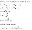 Bài 23 trang 19 sgk Toán 9 tập 2