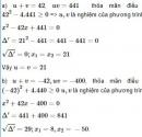 Bài 32 trang 54 sgk Toán 9 tập 2