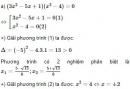 Bài 36 trang 56 sgk toán 9 tập 2