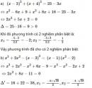 Bài 38 trang 56 sgk Toán 9 tập 2