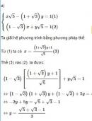 Bài 41 trang 27 SGK Toán 9 tập 2