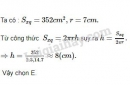 Bài 4 trang 110 - Sách giáo khoa toán 9 tập 2