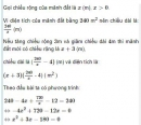 Bài 46 trang 59 sgk Toán 9 tập 2