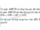 Bài 54 trang 89 sgk Toán lớp 9 tập 2