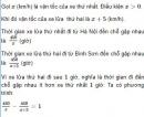 Bài 65 trang 64 SGK Toán 9 tập 2