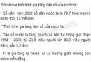 Bài 1 trang 10 sgk địa lí 9