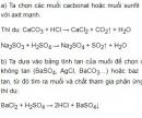 Bài 1 trang 33 SGK Hóa học 9