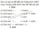 Bài 1 trang 43 SGK Hóa học 9