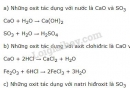 Bài 1 trang 6 SGK Hóa học 9