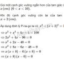Bài 18 trang 133 SGK Toán 9 tập 2