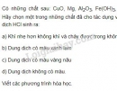 Bài 2 trang 14 SGK Hóa học 9