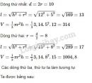 Bài 26 trang 119 SGK Toán 9 tập 2