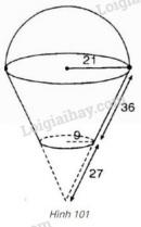 Bài 28 trang 120 - Sách giáo khoa toán 9 tập 2