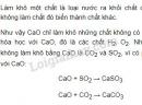 Bài 3 trang 11 sgk hóa học 9