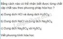 Bài 3 trang 19 sgk hóa học 9