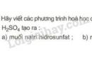 Bài 3 trang 30 SGK Hóa học 9
