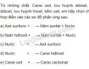 Bài 3 trang 6 sgk hóa học 9