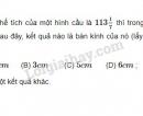 Bài 30 trang 124 SGK Toán 9 tập 2