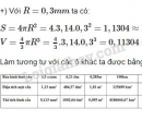 Bài 31 trang 124 - Sách giáo khoa toán 9 tập 2