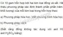 Bài 4 trang 14 SGK Hóa học 9