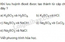 Bài 5 trang 11 sgk hóa học 9