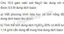 Bài 5 trang 25 sgk hóa học 9