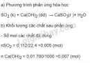 Bài 6 trang 11 sgk hóa học 9
