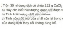 Bài 6 trang 33 sgk hóa học 9