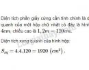 Bài 7 trang 111 - Sách giáo khoa toán 9 tập 2