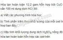 Bài 7 trang 19 SGK Hóa học 9